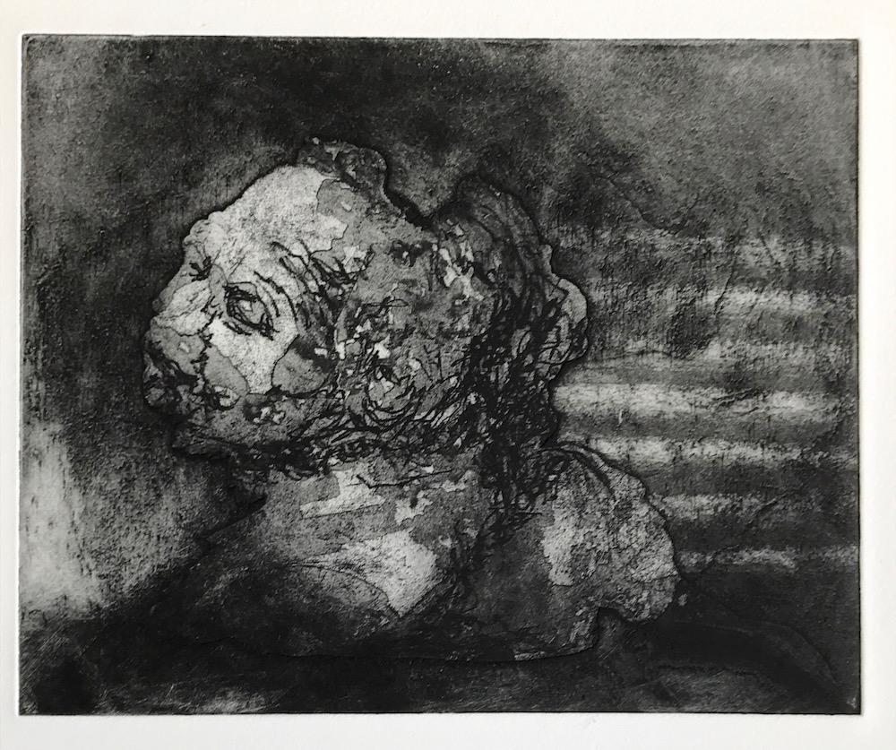 Basking by a warm air vent - Ann Norfield