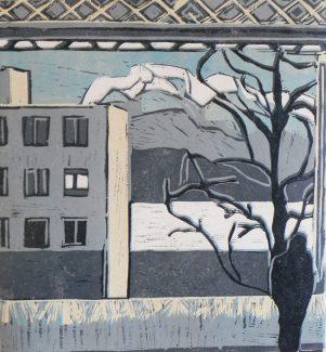 A gap amoungst the buildings - Lucinka Soucek