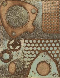 Fabrication Blue - by Sarah Mander